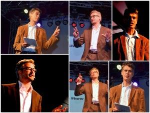 Herman Keppy en Patrick Wouters presenteerden De Grote Surabaya Show