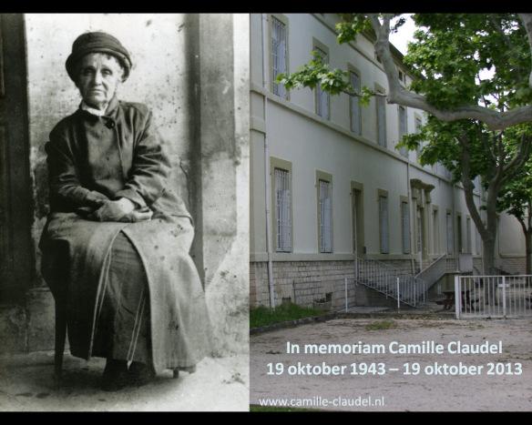 in memoriam Camille Claudel 19 okt 1943 - 19 okt 2013