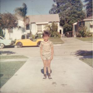 Patrick op zesjarige leeftijd in de zomer van 1968 (California, USA)