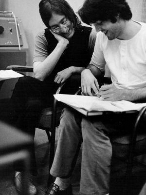 John & Paul 1968 - Linda McCartney